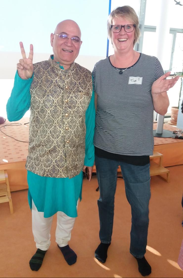 Dr.Kataria und ich